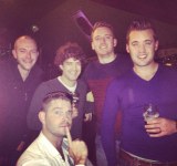 22Nov14 Pre wedding drinks (MQuinn)